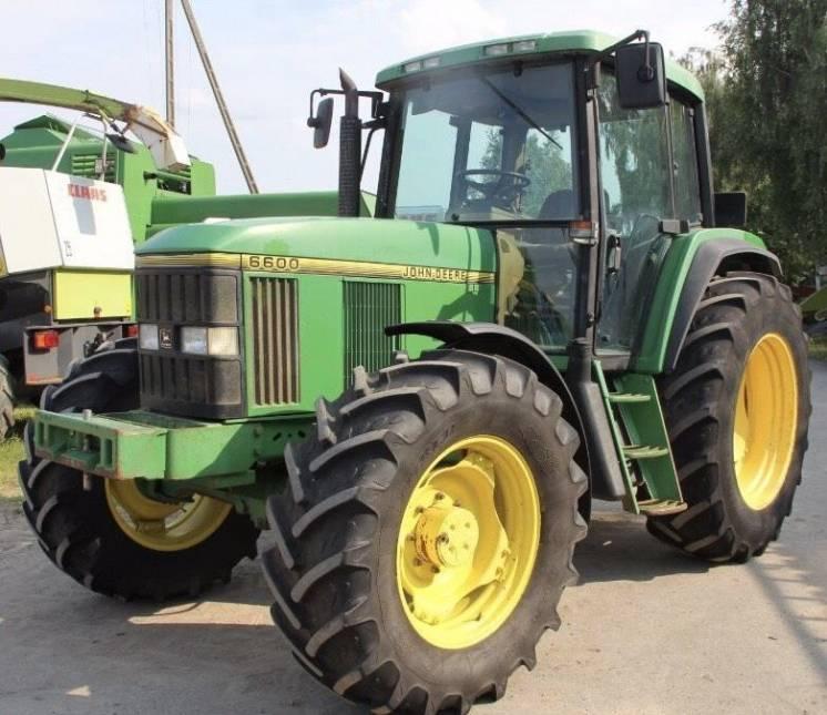 колісний трактор John Deere 6600