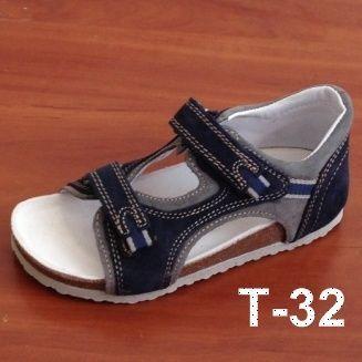 Ортопедические босоножки для детей Т-32 синие