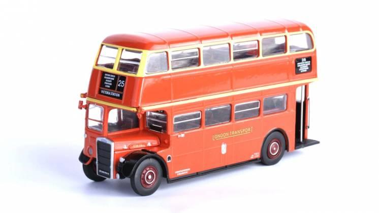 модель автобуса Leyland RTW 75 (Kultovní autobusy 1:72)