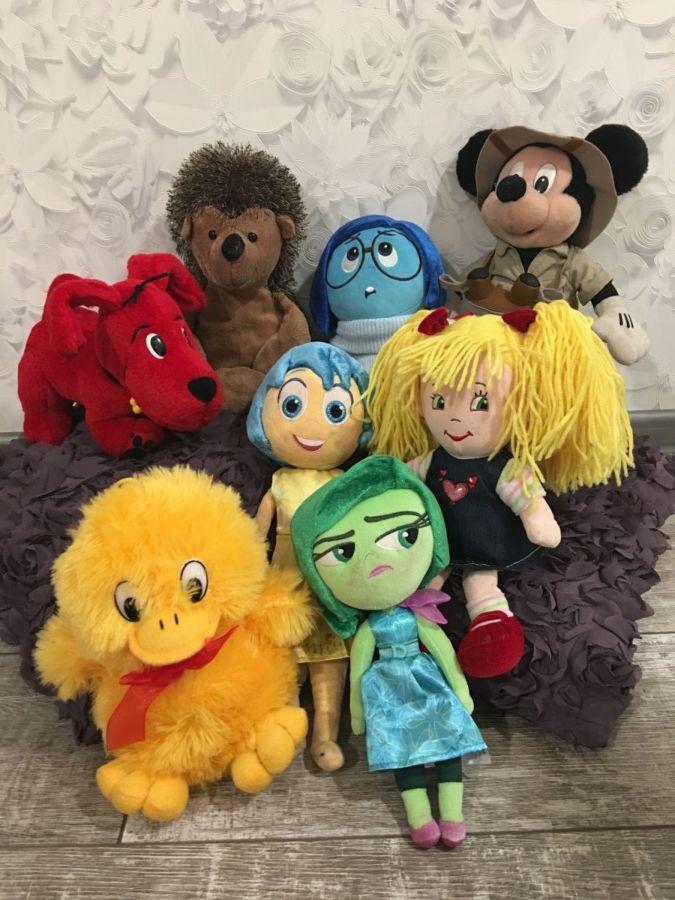 Мягки детские игрушки. Disney и не только.