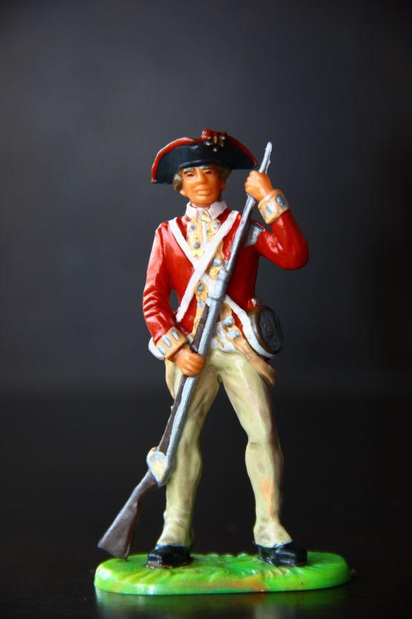 Вашингтонский полк ELASTOLIN 70мм (ФРГ)