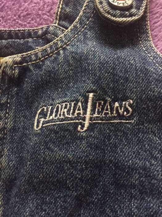 Сарафан джинсовый на девочку Gloria Jeans .