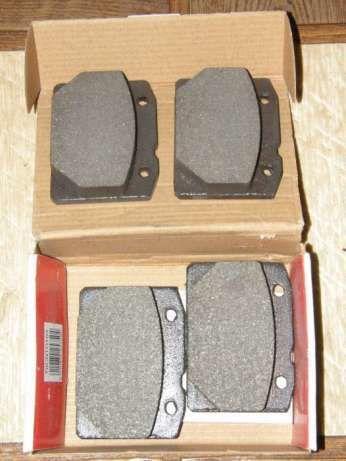 Тормозные колодки передние FERODO FDB96