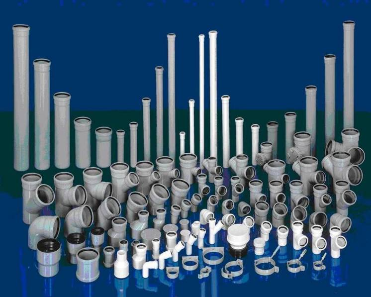 Трубы ППР для отопления и водоотведения