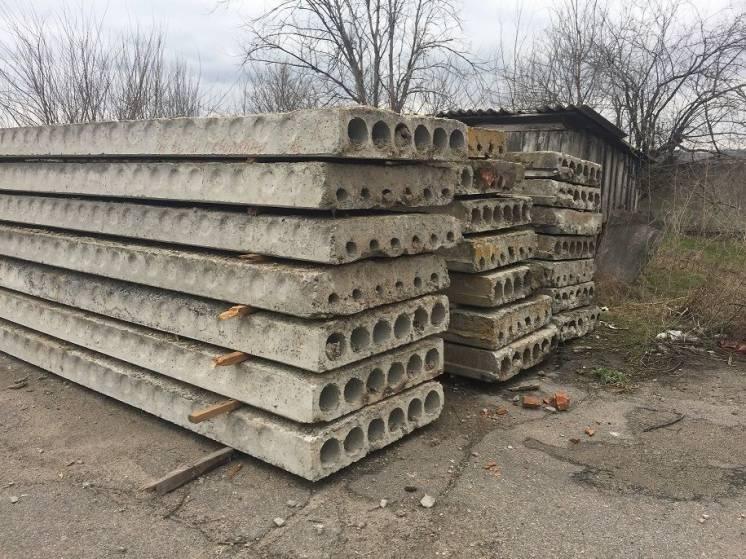 плиты перекрытия, стеновые, дорожные, блоки ФБС б/у жби