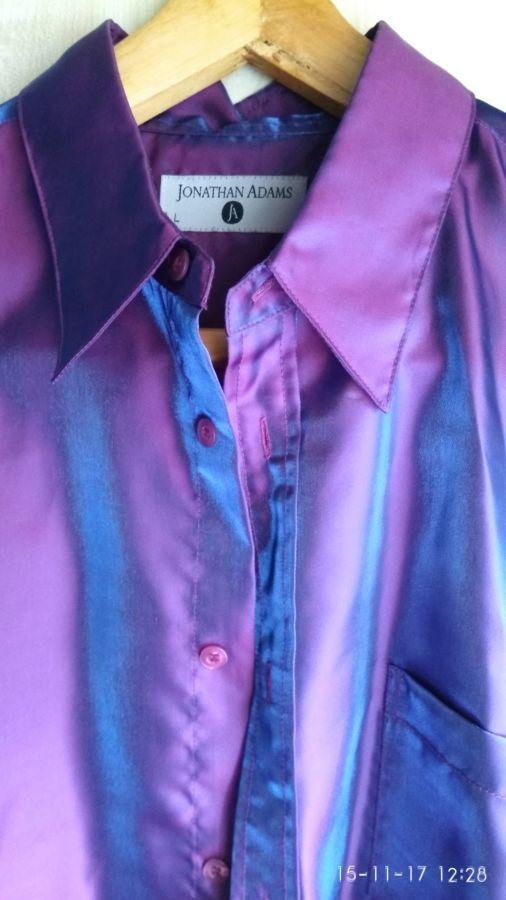 Продам мужская концертная рубашка Jonatham Adams с коротким рукавом