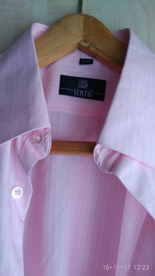 Продам мужскую свадебную рубашку Senfo
