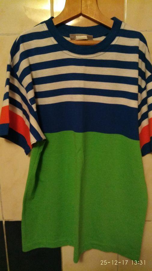 Мужская футболка. XL. (50 р.) Б/у.