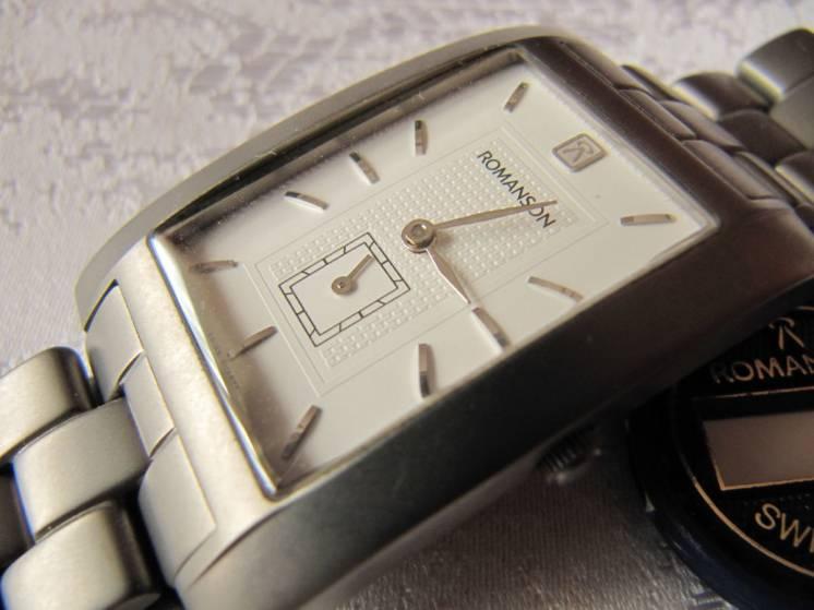 Часы мужские ROMANSON RM 0588М TITANIUM,новые