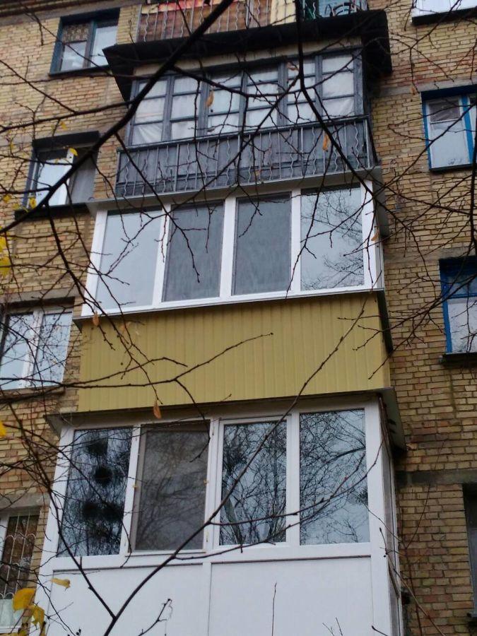 Ремонт балкона, остекление