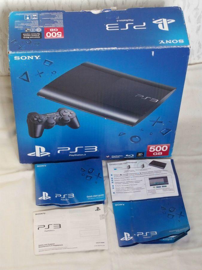 Игровая приставка Sony PlayStation 3 Slim HDD 500 GB Mod:cech 4008c