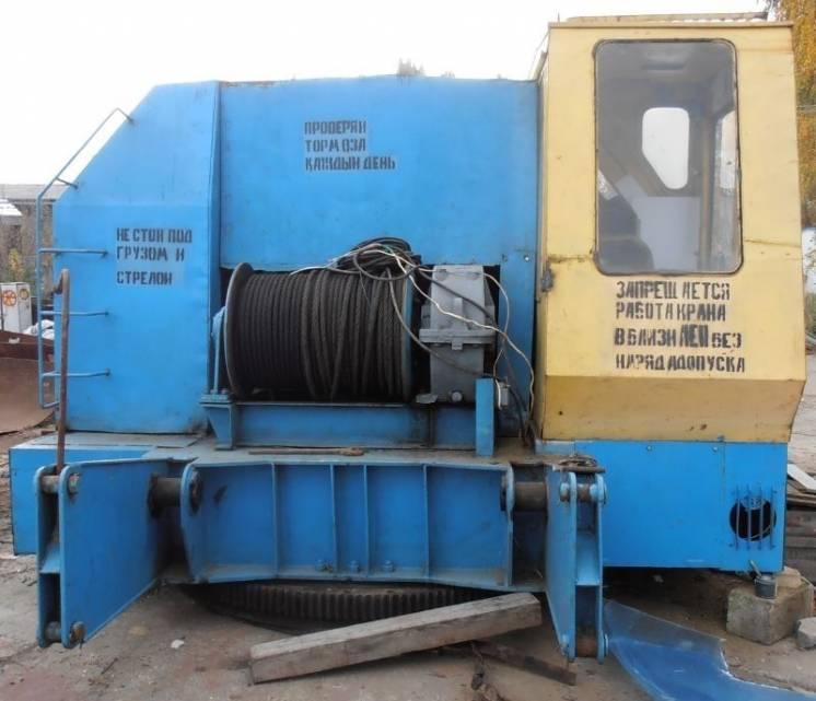 Предоставляем услуги гусеничного крана МКГ-40, 40 тонн, 1996 г.в.