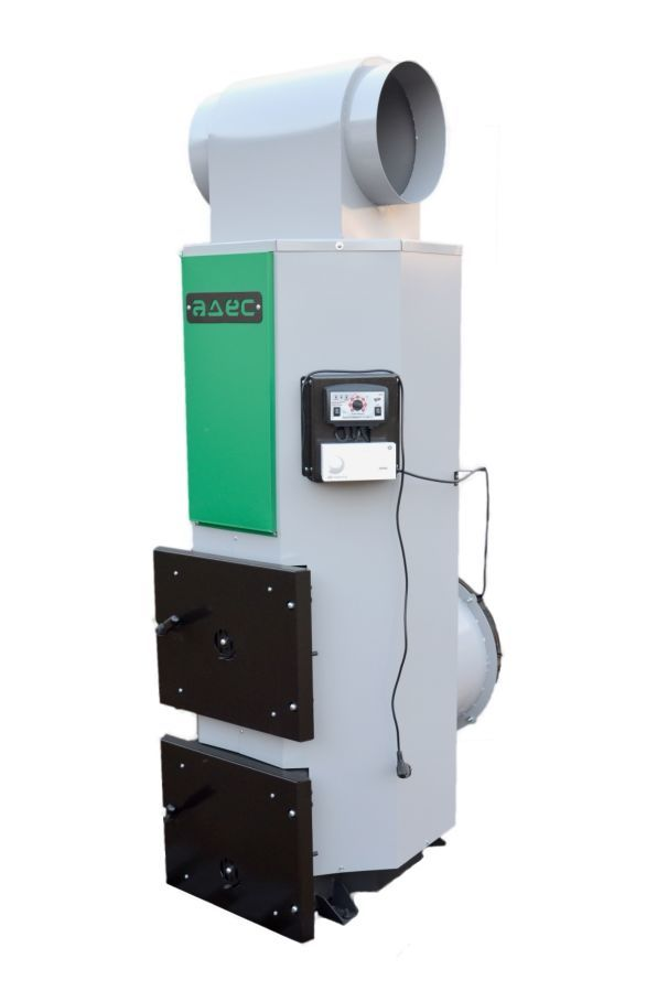 Твердотопливный теплогенератор адес тг-35 квт (воздушный котел).