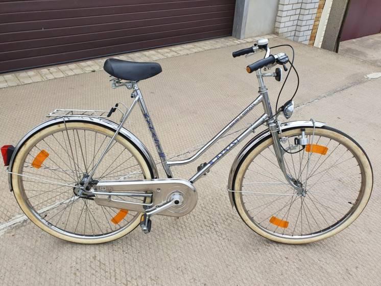 Велосипед Kynast Krupp Nirosta из нержавеющей стали пр-ва Германия.