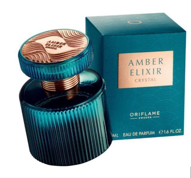 Парфюмерная вода духи Amber Elixir Crystal