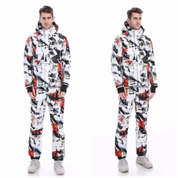 Мужской костюм Snow Impression, р.M-L, новый, штаны и куртка, комплект