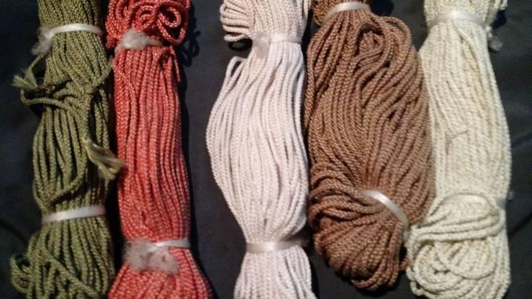 Декоративный шнур для макраме: 25 грн. - Нитки Киев на BESPLATKA.ua 21962857