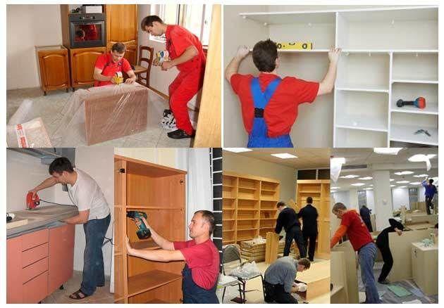 Сборка разборка реставрация мебели