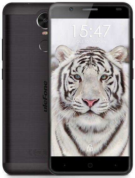 "Фаблет Ulefone Tiger Lite (Black), 5,5"" HD, 1/16Gb, 4-ядерный, 35"