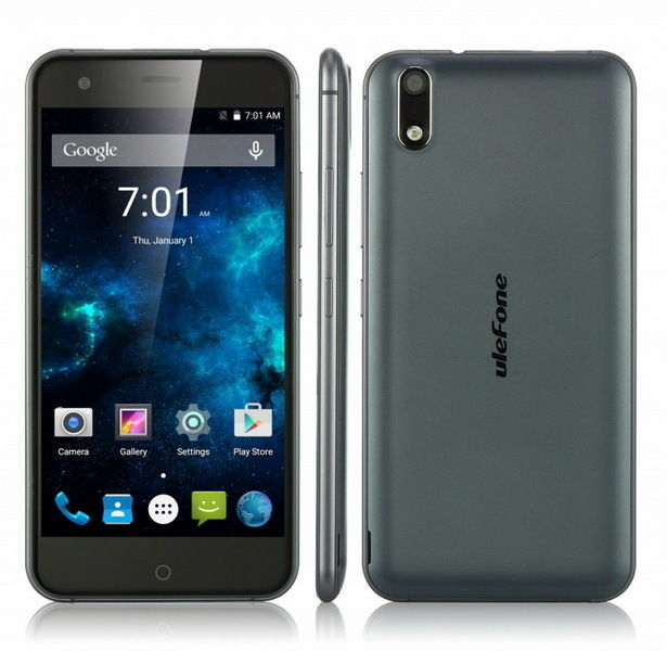 Смартфон Ulefone Paris, 5''IPS HD, 8 ядер, 2/16ГБ, 2250mAh,4G!Чехол!
