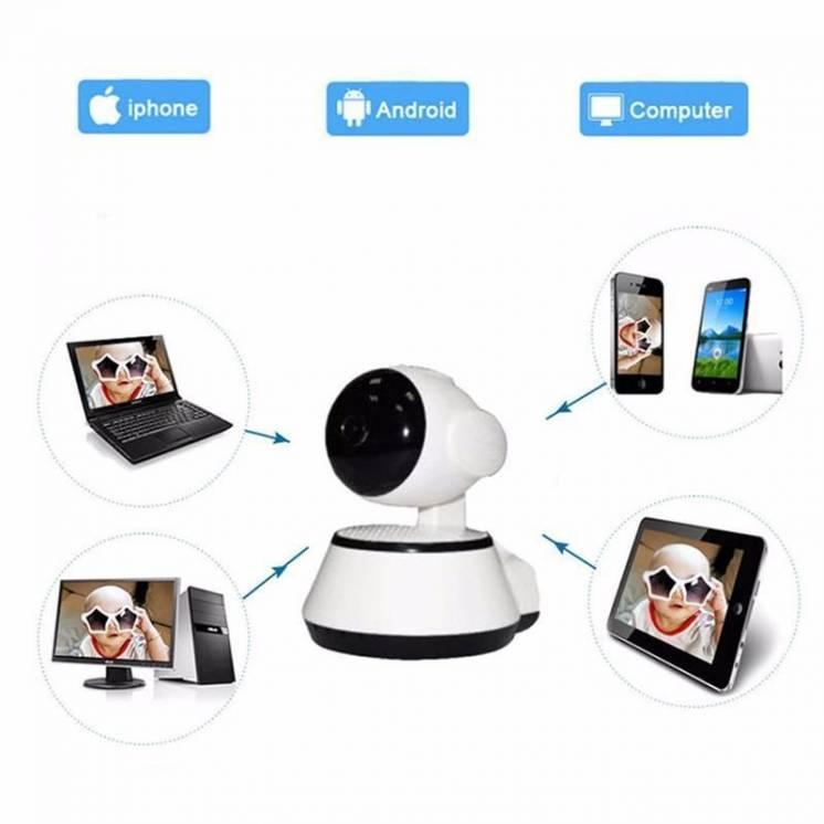 Поворотная Wi-fi Ip камера Digoo Bb-m1(m Way) 720p с ночной подсветкой