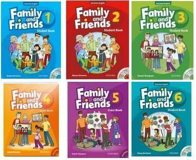 Family and Friends 1-6, 1st edition and 2nd edition