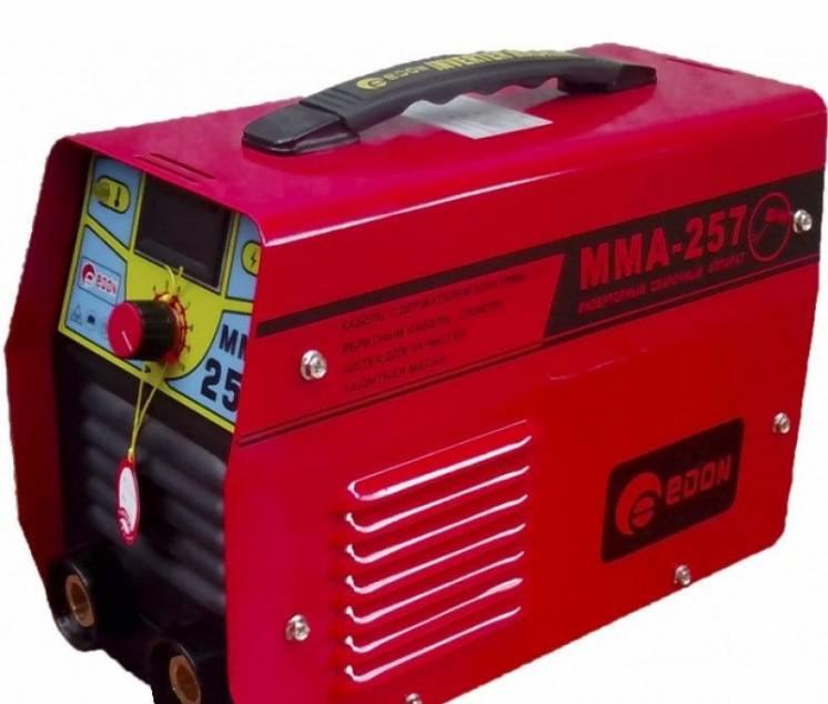 Инвертор сварочный  ЭДОН    257 мини  чемодан дисплей