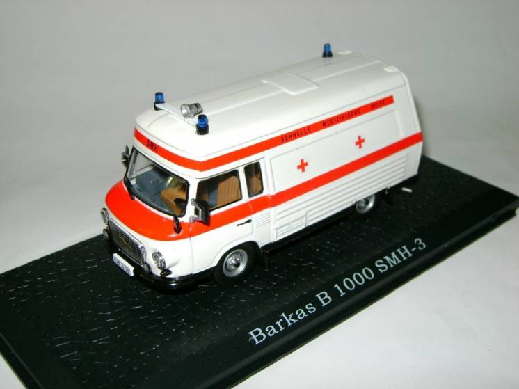 Коллекционная модель  BARKAS B 1000 SMH-3 (Atlas) 1/43
