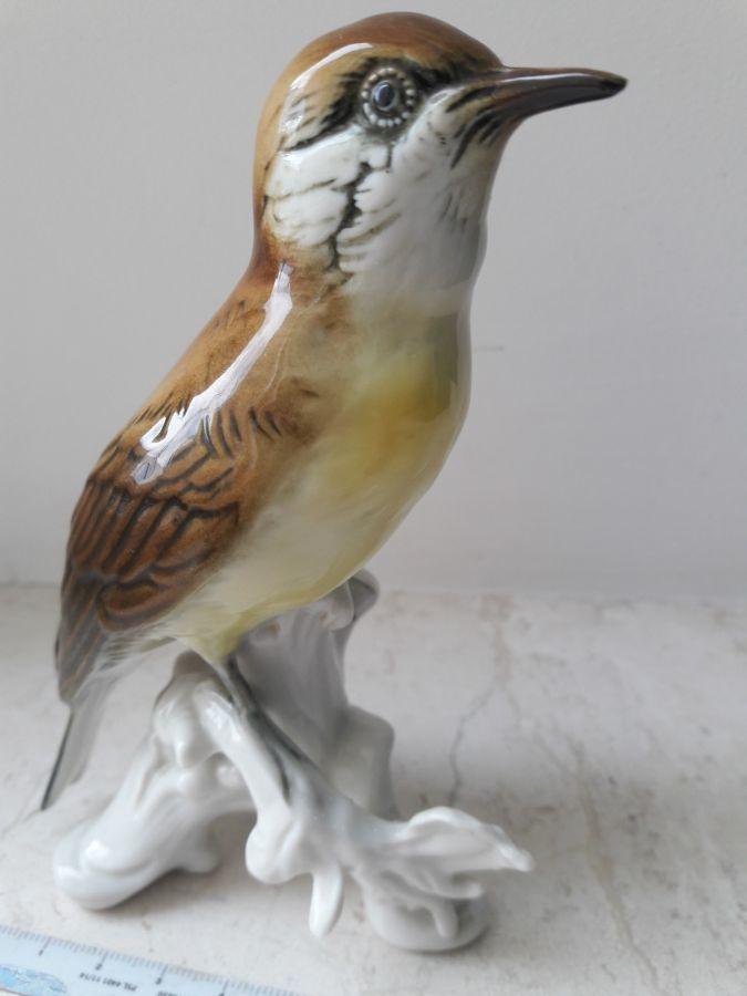 фарфоровая статуэтка KARL ENS Thuringia Птица