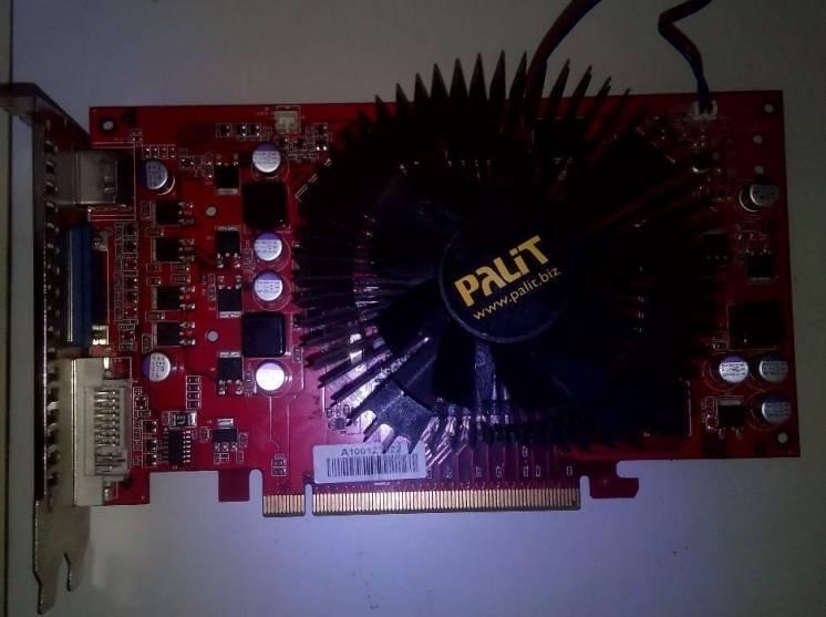 Разные PCI / AGP / PCI Express видеокарты Nvidia FX5200, ATI 9600 и тп