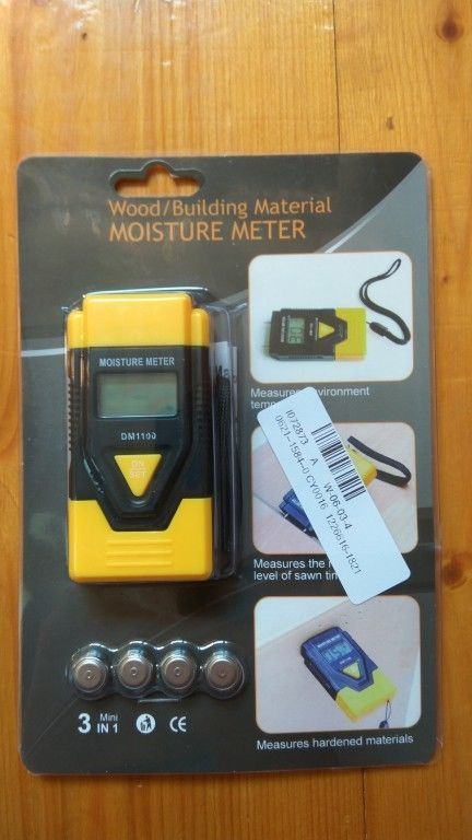 Влагомер DM 1100 древесины, строительных материалов