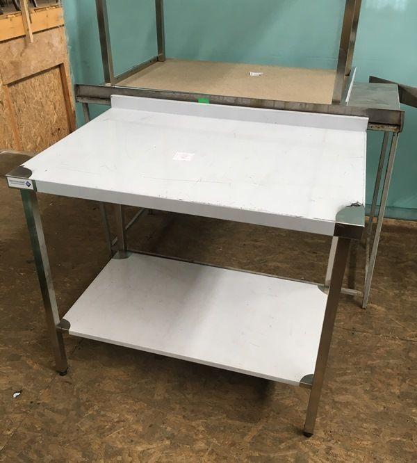 Стол из нержавеющей стали новый, стол из нержи новый