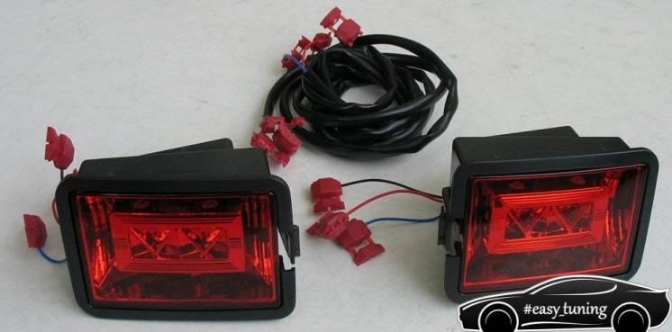 Задние противотуманные фонари фольксваген транспортер транспортер т5 предохранитель отопителя