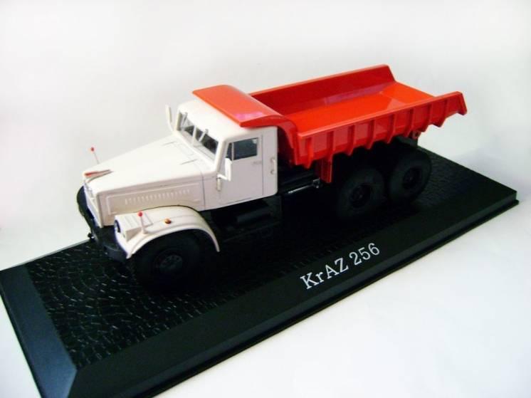 Коллекционная модель самосвала КрАЗ 256  (Atlas) 1/43