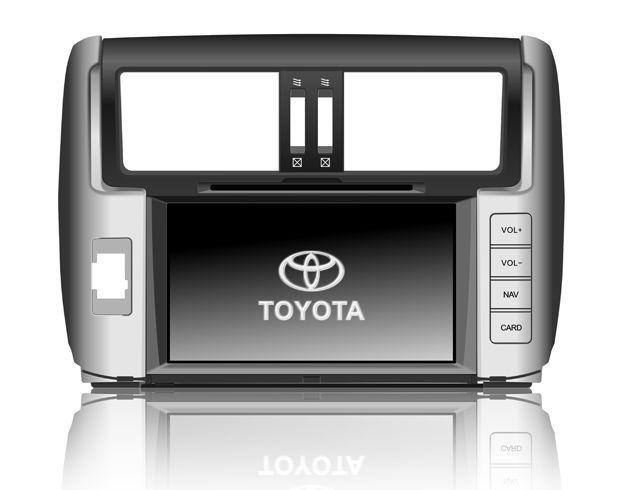 FlyAudio Штатное головное устройство для Toyota Prado 150 (2009-2013)