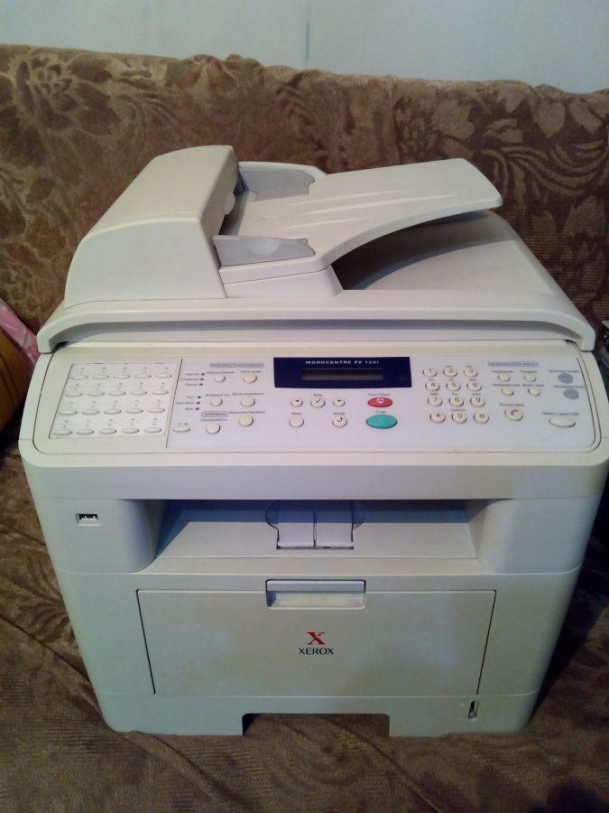 МФУ с факсом и автоподатчиком Xerox WorkCentre PE120i