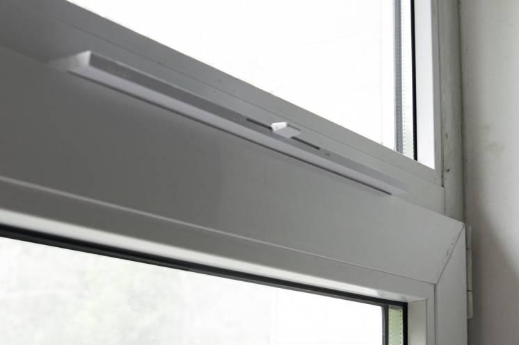 Приточно-вентиляционный клапан – проветриватель New Air на плас
