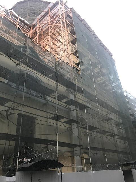 Сетка строительная фасадная (в рулонах), сетка затеняющая 100 кв.м.