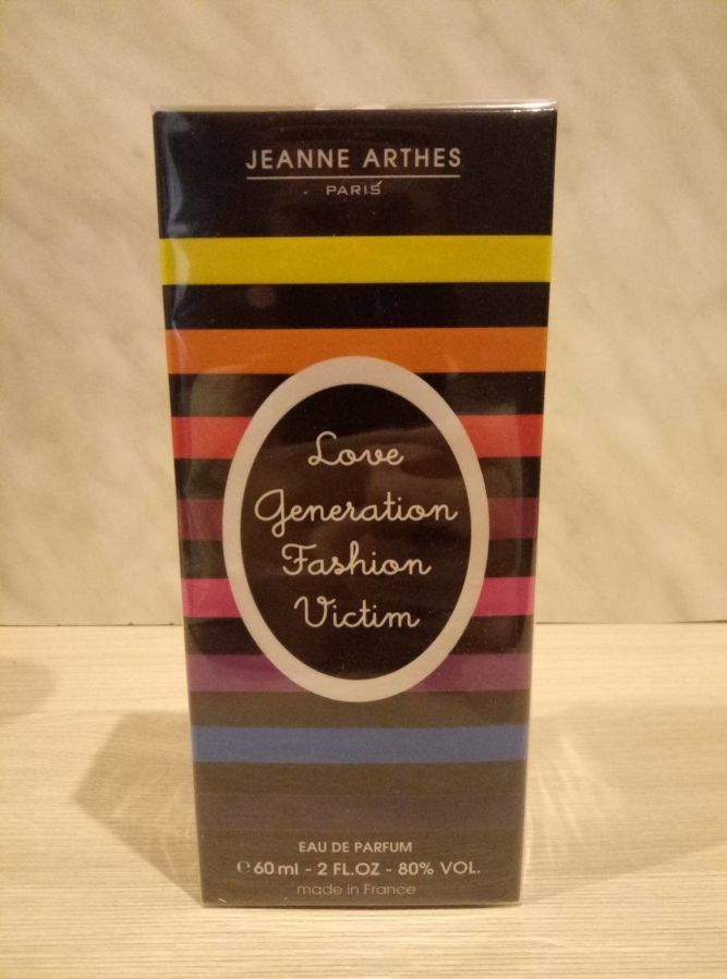 Парфюмированная вода Love Generation Fashion Victim Jeanne Arthes