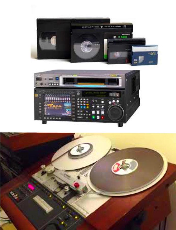 оцифровка видеокассет в Одессе VHS, VHS-C, Hi8, MiniD