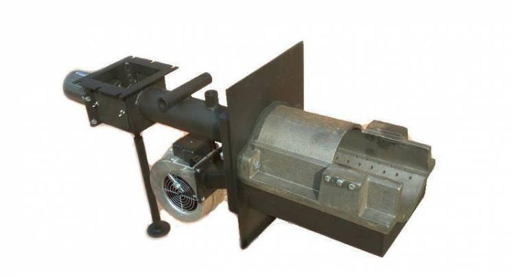 Самоочищающаяся горелка жёлобного типа 12-25 кВт