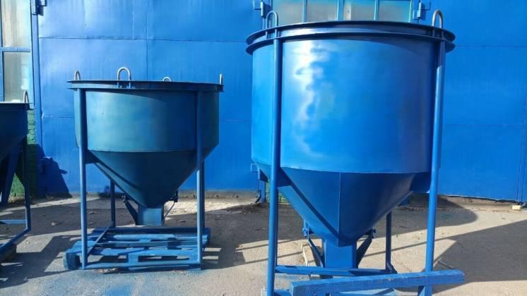 Неповоротный бункер для бетонной смеси бетонная смесь с керамзитом
