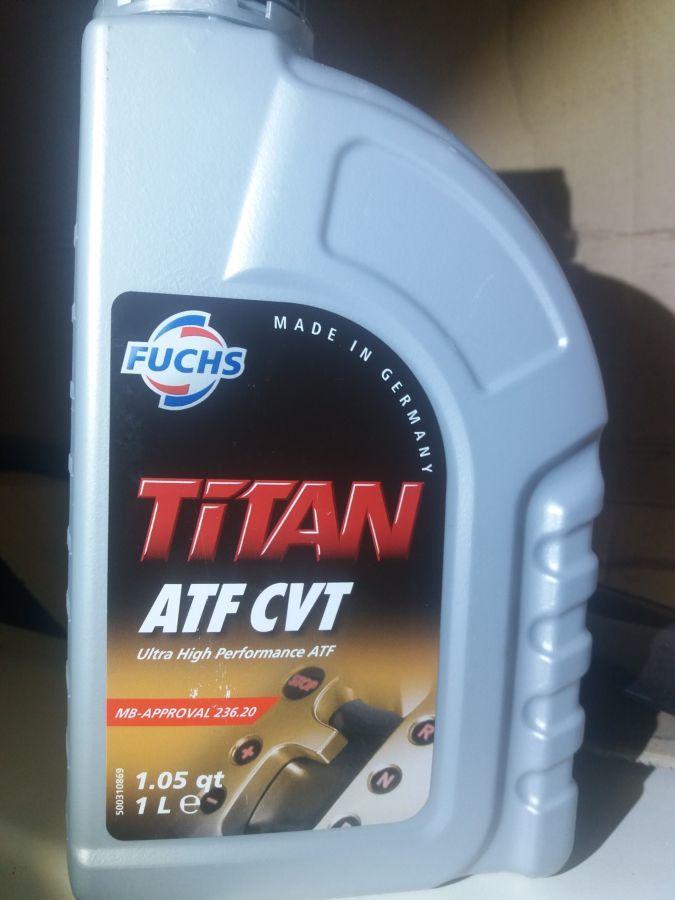 Масло в вариатор TITAN ATF CVT