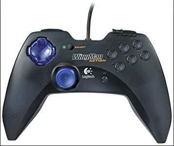 Logitech Wingman Action Pad - Wired USB PC Gamepad