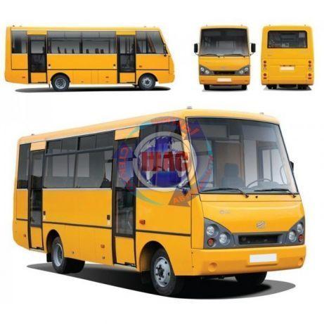 Лобовые стекла на автобусы