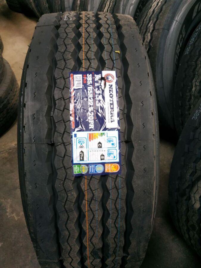 резина усиленная 385 65 шина прицеп R22,5 Neoterra NT333  164K