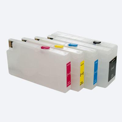 """Картриджи HP Designjet T120, T520 перезаправляемые """"Ревизии A,B,C,E"""""""