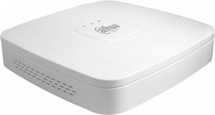 4-канальный Smart 1U 4PoE сетевой видеорегистратор DH-NVR1A04-4P