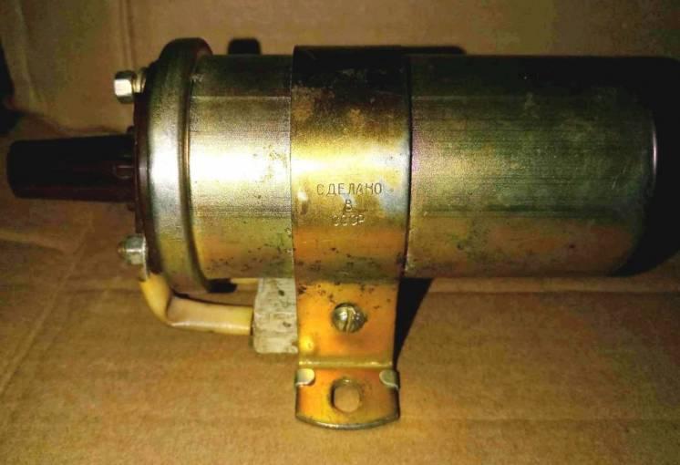 Катушка зажигания Москвич 412, 2140 (номер Б115В) пр. СССР.