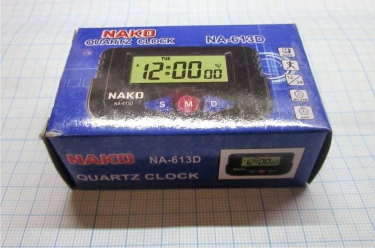 Часы NA-613D, секундомер, календарь, будильник